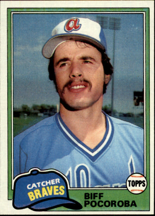 1981 Topps #326 Biff Pocoroba