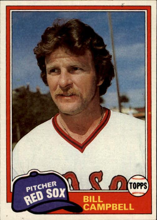 1981 Topps #396 Bill Campbell