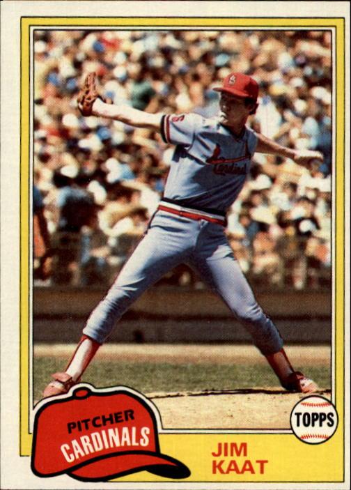 1981 Topps #563 Jim Kaat