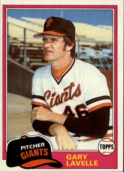 1981 Topps #588 Gary Lavelle