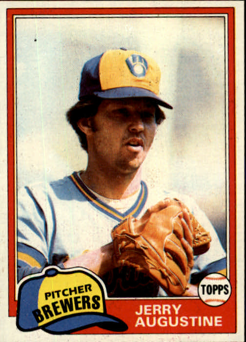 1981 Topps #596 Jerry Augustine