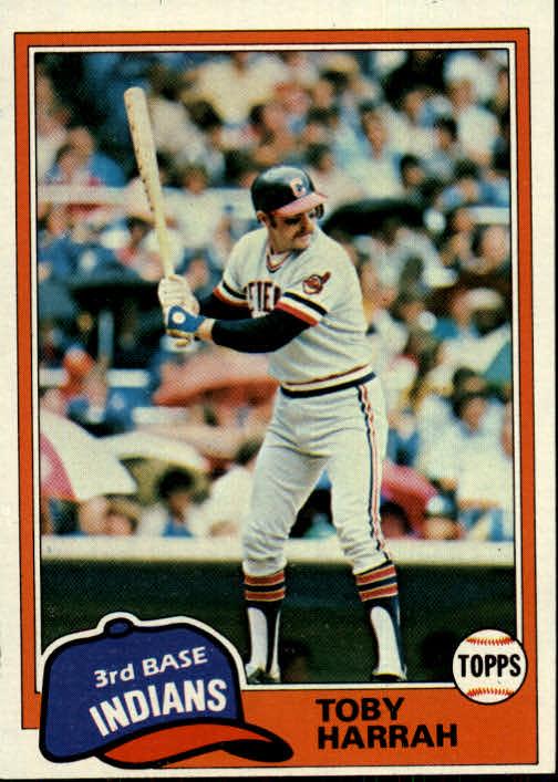 1981 Topps #721 Toby Harrah