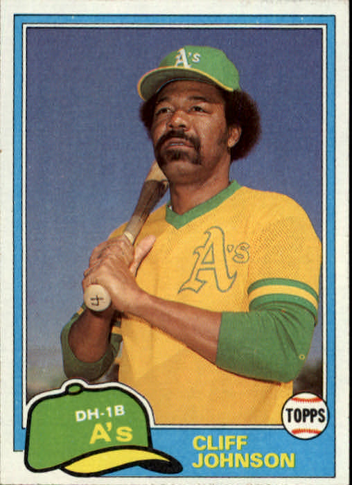 1981 Topps Traded #776 Cliff Johnson
