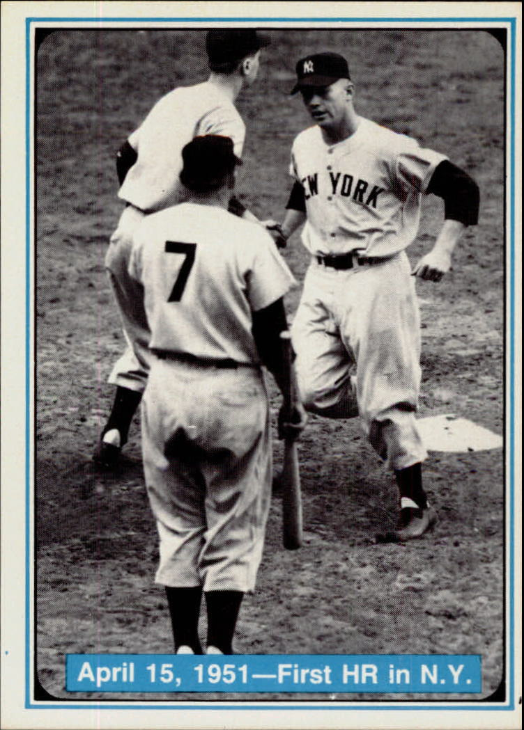 1982 ASA Mickey Mantle #6 Mickey Mantle/First HR in NY 4/15/51