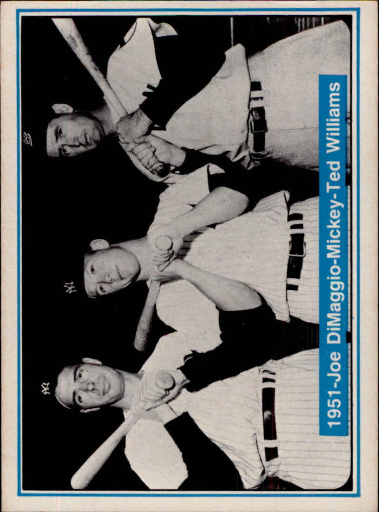 1982 ASA Mickey Mantle #7 Mickey Mantle/Joe DiMaggio/Ted Williams