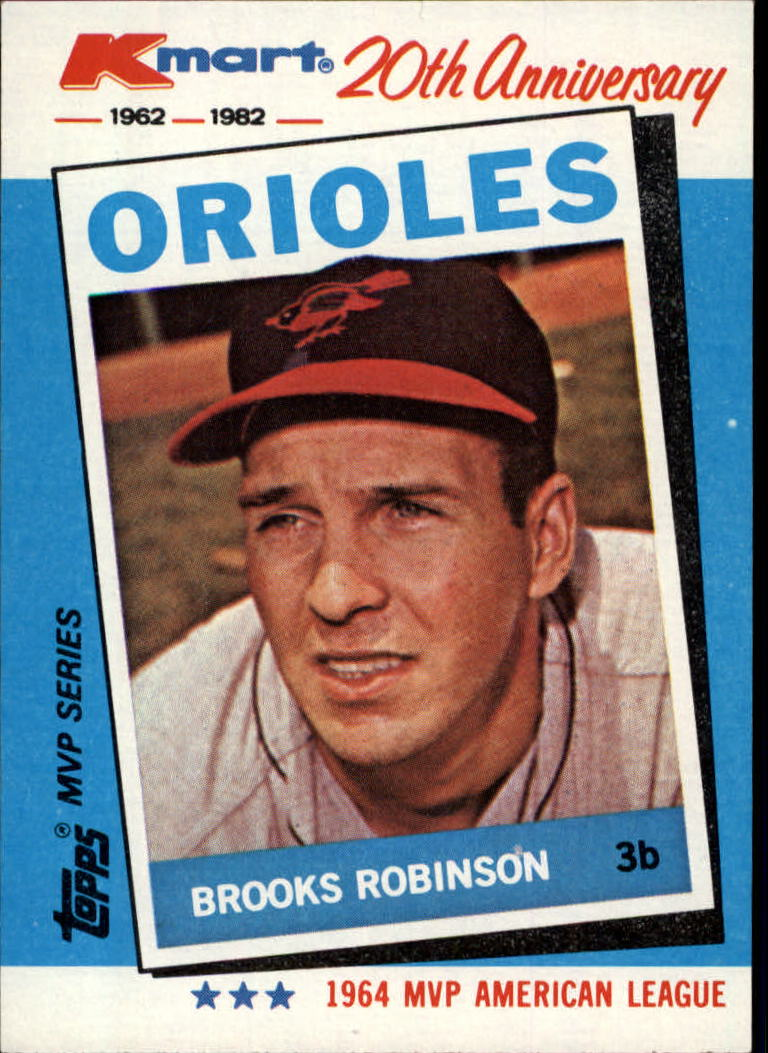1982 K-Mart #5 Brooks Robinson: 64AL