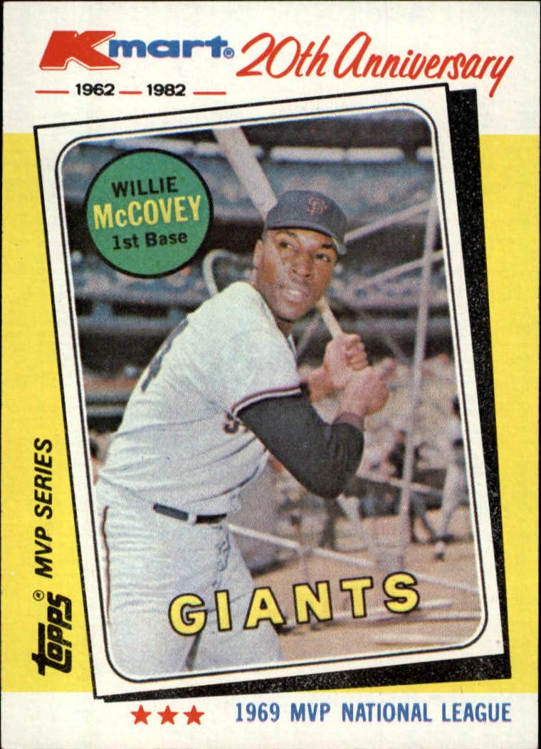1982 K-Mart #16 Willie McCovey: 69NL