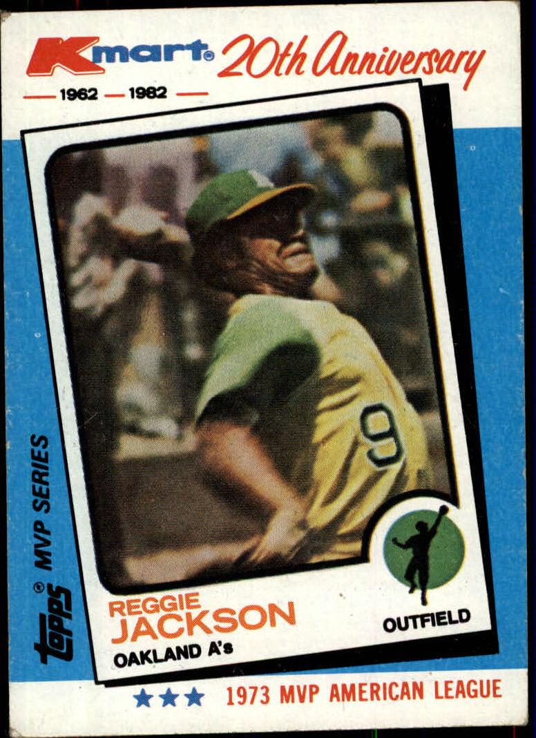 1982 K-Mart #23 Reggie Jackson: 73AL