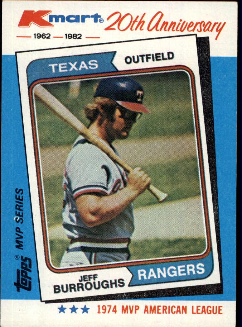 1982 K-Mart #25 Jeff Burroughs: 74AL