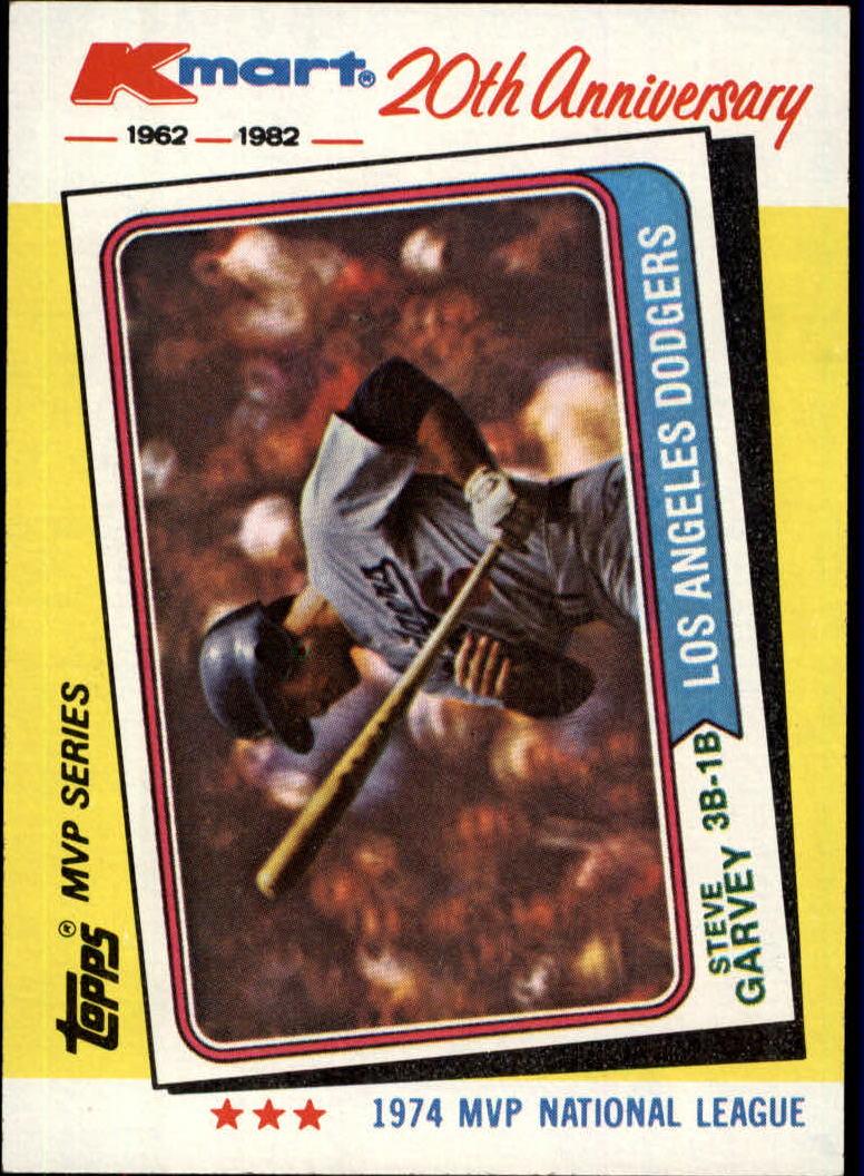 1982 K-Mart #26 Steve Garvey: 74NL
