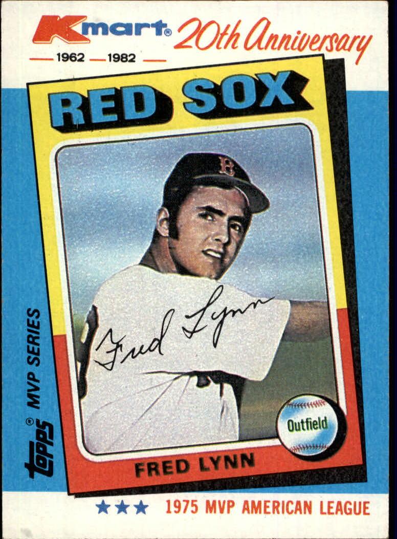 1982 K-Mart #27 Fred Lynn: 75AL