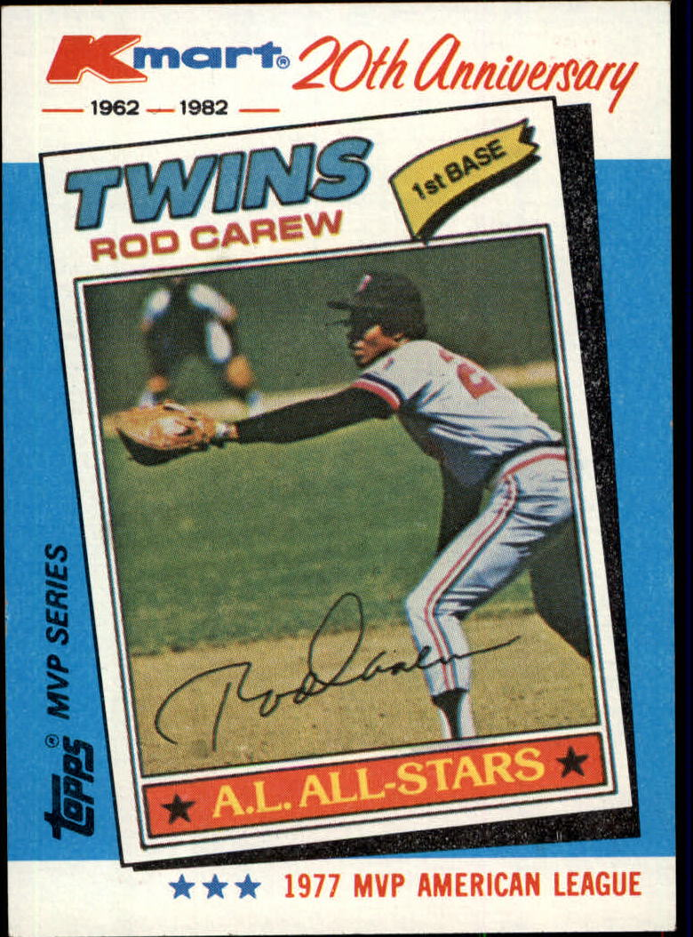 1982 K-Mart #31 Rod Carew: 77AL