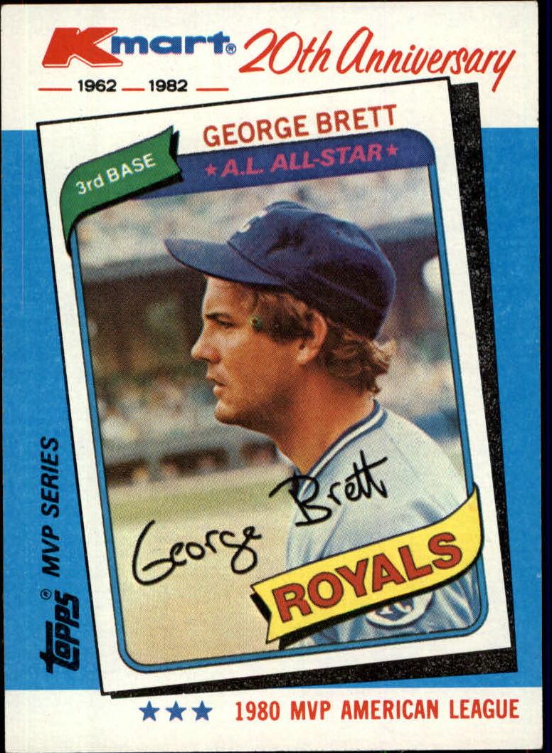 1982 K-Mart #38 George Brett: 80AL