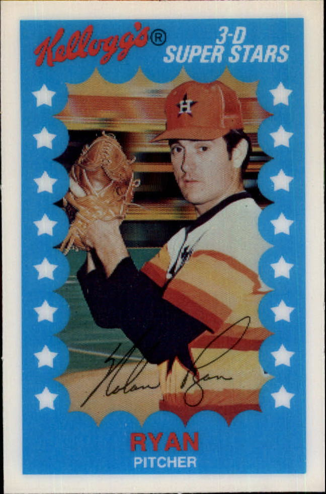 1982 Kellogg's #11 Nolan Ryan