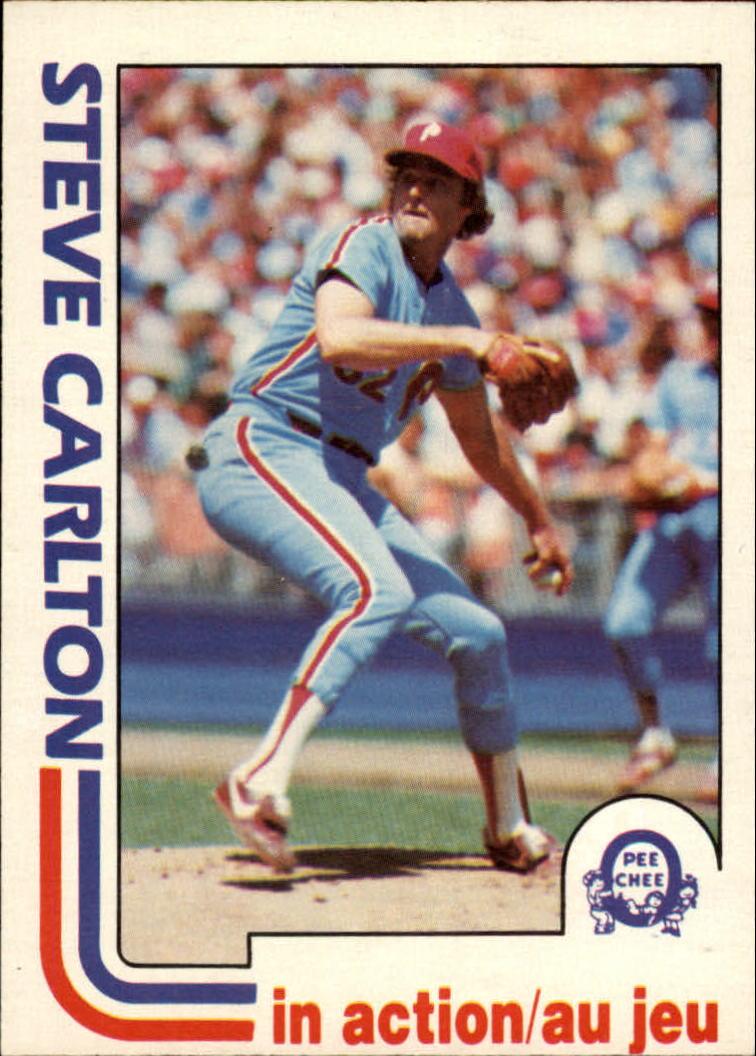 1982 O-Pee-Chee #122 Steve Carlton IA