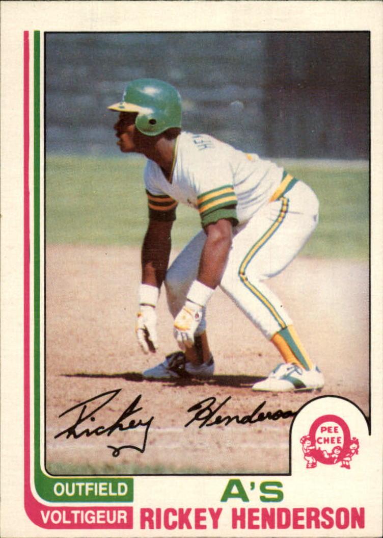 1982 O-Pee-Chee #268 Rickey Henderson