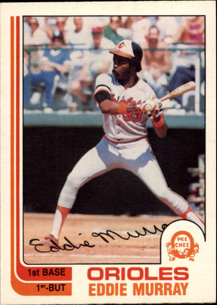 1982 O-Pee-Chee #390 Eddie Murray