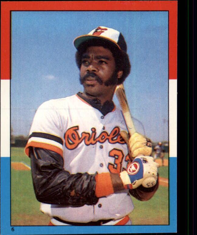 1982 Topps Stickers #6 Eddie Murray LL