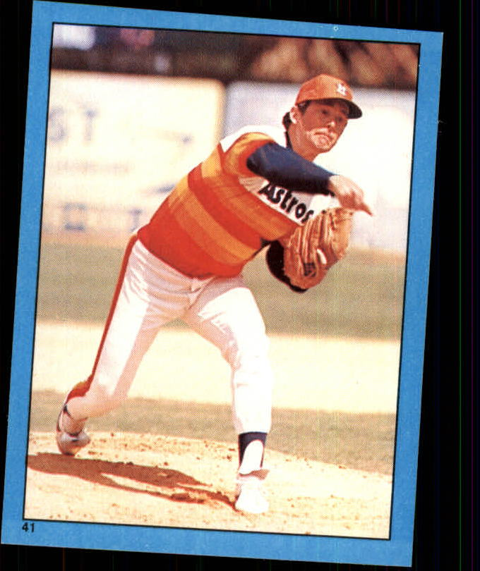 1982 Topps Stickers #41 Nolan Ryan