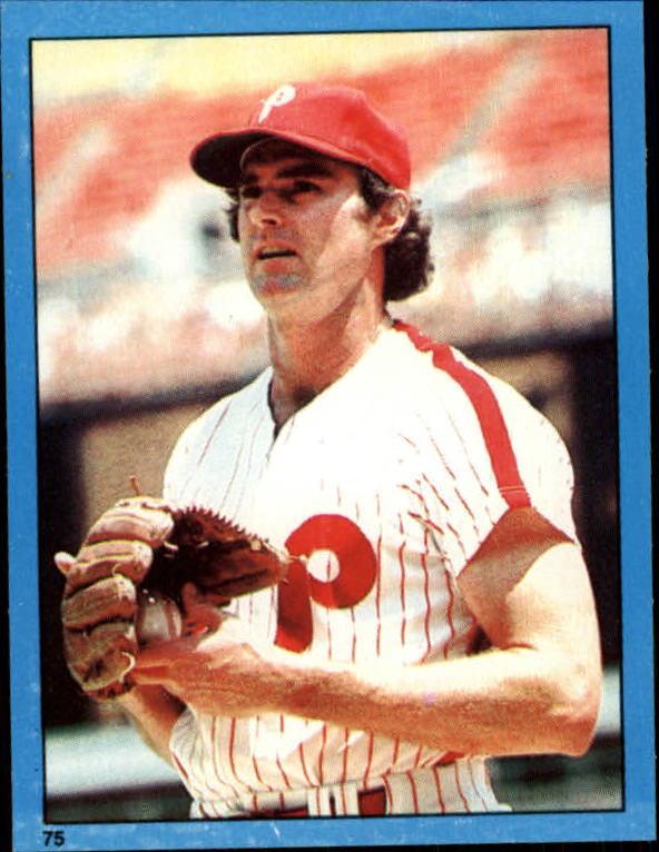 1982 Topps Stickers #75 Steve Carlton
