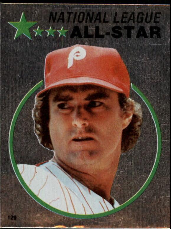 1982 Topps Stickers #129 Steve Carlton FOIL