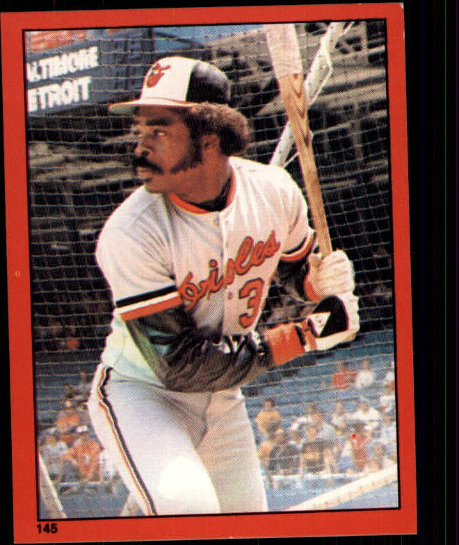 1982 Topps Stickers #145 Eddie Murray