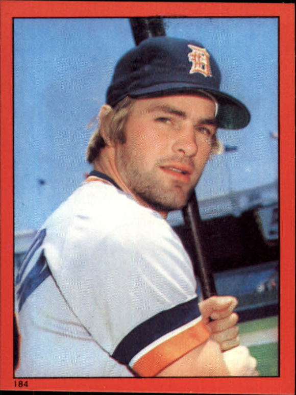 1982 Topps Stickers #184 Kirk Gibson