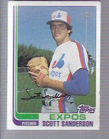 1982 Topps #7 Scott Sanderson