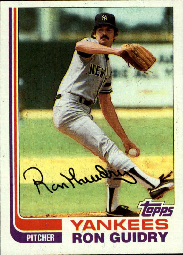 1982 Topps #9 Ron Guidry