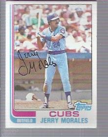 1982 Topps #33 Jerry Morales