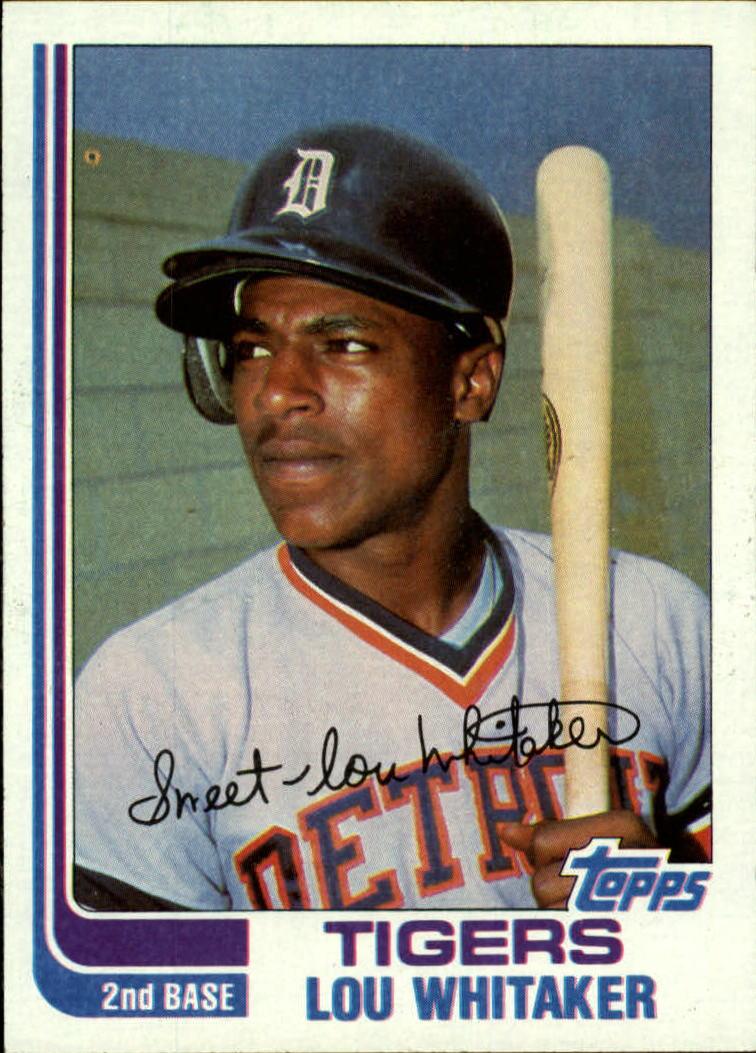 1982 Topps #39 Lou Whitaker