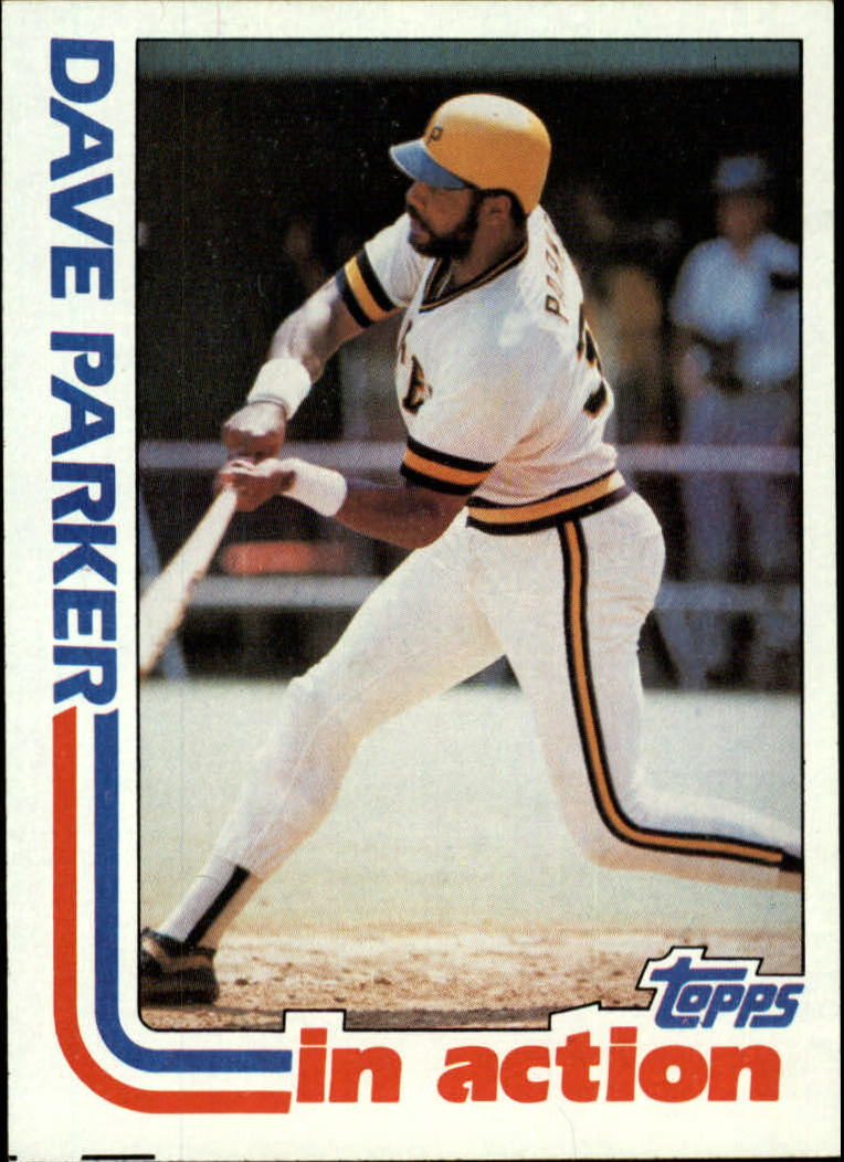 1982 Topps #41 Dave Parker IA