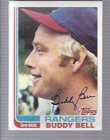 1982 Topps #50 Buddy Bell