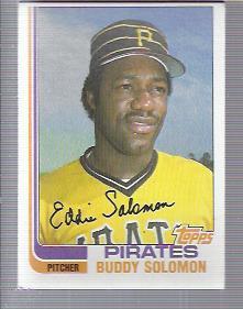 1982 Topps #73 Buddy Solomon