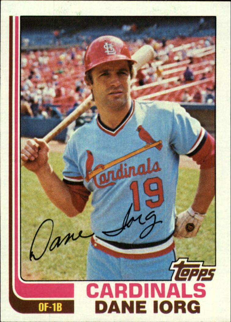 1982 Topps #86 Dane Iorg