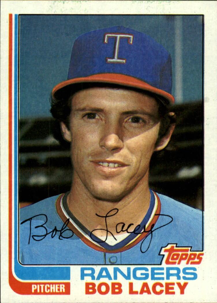 1982 Topps #103 Bob Lacey