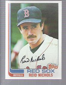 1982 Topps #124 Reid Nichols