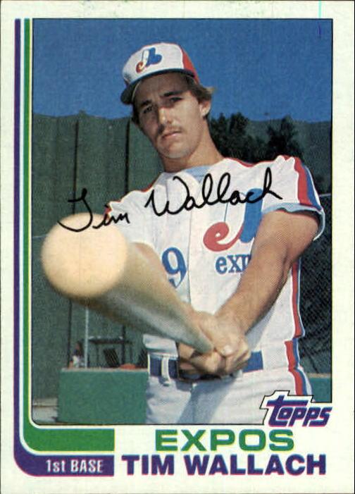 1982 Topps #191 Tim Wallach RC