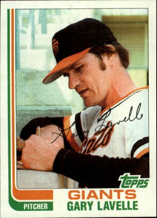 1982 Topps #209 Gary Lavelle