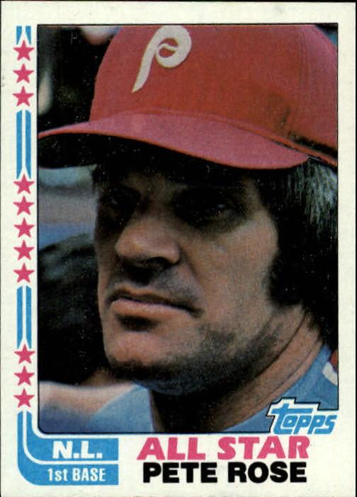 1982 Topps #337 Pete Rose AS