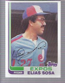 1982 Topps #414 Elias Sosa