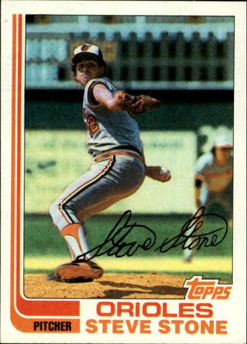 1982 Topps #419 Steve Stone