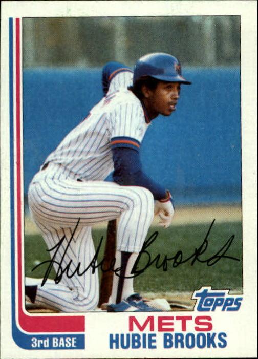 1982 Topps #494 Hubie Brooks