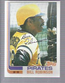 1982 Topps #543 Bill Robinson