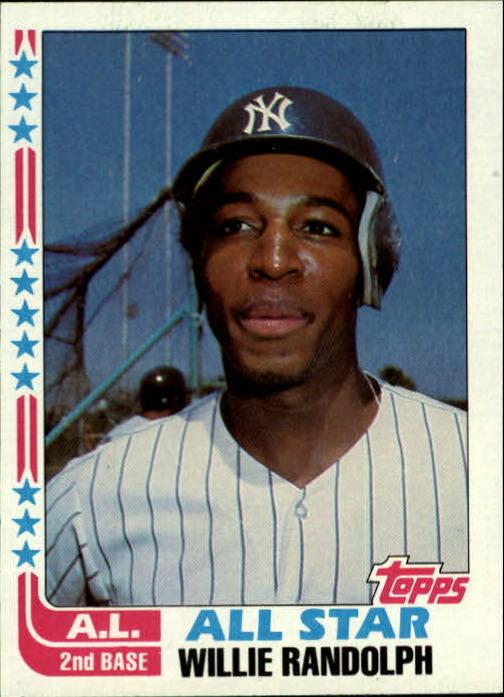 1982 Topps #548 Willie Randolph AS