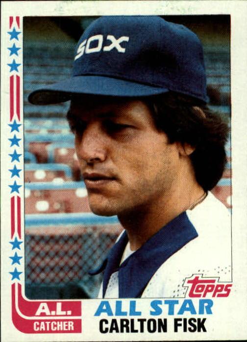 1982 Topps #554 Carlton Fisk AS