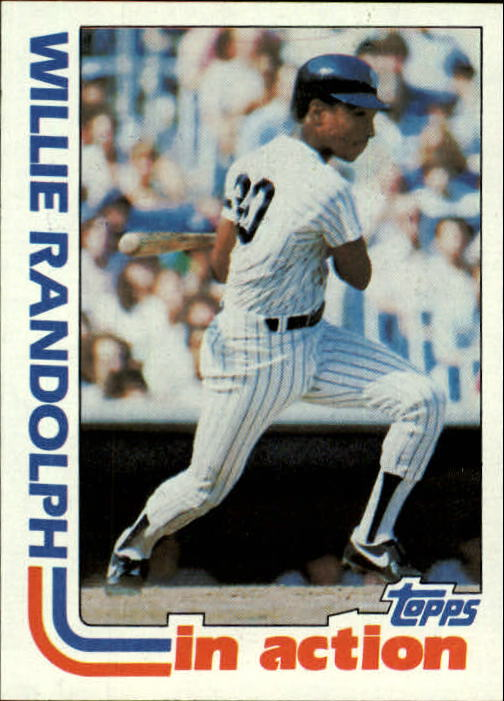 1982 Topps #570 Willie Randolph IA