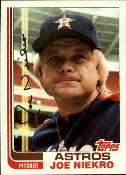 1982 Topps #611 Joe Niekro