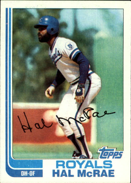1982 Topps #625 Hal McRae