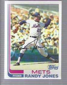 1982 Topps #626 Randy Jones